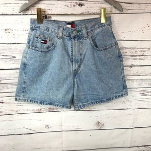 Tommy Hilfiger Perfect short Denim high rise mom